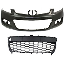 Bumper Cover and Grille Assembly Kit - With fog light holes