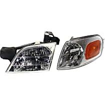 Replacement Headlight and Corner Light Kit - KIT1-81313-06-B - Driver Side, DOT/SAE Compliant