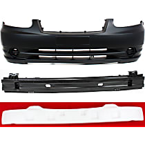 Bumper Reinforcement, Bumper Cover and Bumper Absorber Kit - Front, OE Replacement