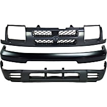 Replacement Valance, Grille Assembly and Bumper Kit - Front, OE Replacement