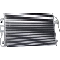 A/C Condenser - Excludes Hybrid; With Automatic Transmission, With Integrated Oil Cooler