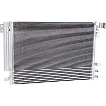 A/C Condenser, Sedan - w/Auto Trans Oil Cooling