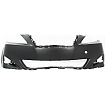 Front Bumper Cover, Primed - w/o Pre-Collision System, w/o Headlamp Washer Holes