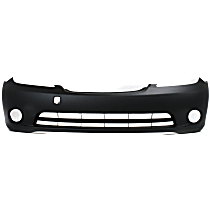 Front Bumper Cover, Primed - w/o Parking Aid Snsr Holes, w/ FL Holes, w/ Side Marker Holes