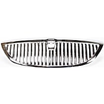 Grille Assembly - Chrome Shell and Insert, Except Limited Edition Model, CAPA Certified
