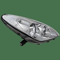 Passenger Side Halogen Headlight, With bulb(s)