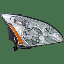 Passenger Side Halogen Headlight, With bulb(s) - 2004-2006 Lexus RX330 / 2007-2009 Lexus RX350 / 2006-2007 Lexus RX400h, Japan Built Model