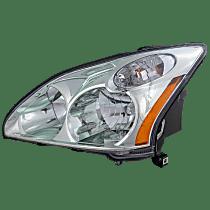Driver Side Halogen Headlight, With bulb(s) - 2004-2006 Lexus RX330 / 2007-2009 Lexus RX350 / 2006-2007 Lexus RX400h, Japan Built Model