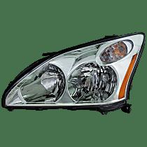 Driver Side Halogen Headlight, With bulb(s) - 2004-2006 Lexus RX330 / 2007-2009 Lexus RX350, USA Built Model