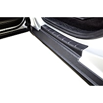 14066 Rocker Panel Guards - Black, Dura-Flex(R) 2000 TPO, Direct Fit, Set of 2