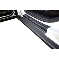 14081 Rocker Panel Guards - Black, Thermoplastic, Set of 4