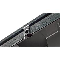 28509 Bed Rail Cap - Matte Black, Dura-Flex(R) 2000 TPO, Smooth, Direct Fit, Set of 2