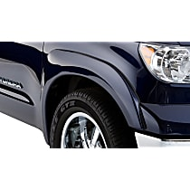 Front, Driver and Passenger Side Bushwacker OE style Fender Flares, Black
