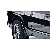 Rear, Driver and Passenger Side OE Style Series Fender Flares, Black