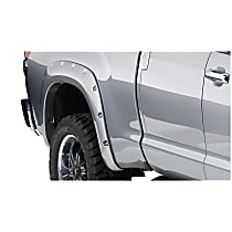 Rear, Driver and Passenger Side Bushwacker Pocket Style Fender Flares, Black