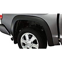 Rear, Driver and Passenger Side Bushwacker OE style Fender Flares, Black