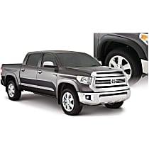 Front and Rear, Driver and Passenger Side Bushwacker OE Style Painted Fender Flares, Gray
