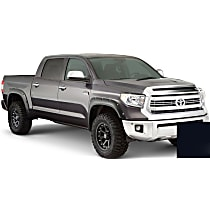 Front and Rear, Driver and Passenger Side Bushwacker Pocket Style Painted Fender Flares, Black