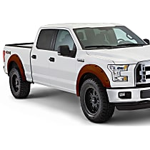 Front and Rear, Driver and Passenger Side Bushwacker Pocket Style Painted Fender Flares, Bronze