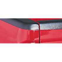 38501 Bed Rail Cap - Matte Black, Dura-Flex(R) 2000 TPO, Smooth, Direct Fit, Set of 2