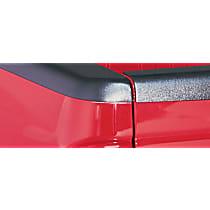 Bushwacker 38501 Bed Rail Cap - Matte Black, Dura-Flex(R) 2000 TPO, Smooth, Direct Fit, Set of 2