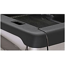 48501 Bed Rail Cap - Matte Black, Dura-Flex(R) 2000 TPO, Smooth, Direct Fit, Set of 2