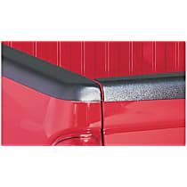 48507 Bed Rail Cap - Matte Black, Dura-Flex(R) 2000 TPO, Smooth, Direct Fit, Set of 2