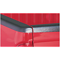 48514 Bed Rail Cap - Matte Black, Dura-Flex(R) 2000 TPO, Smooth, Direct Fit, Set of 2