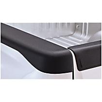 48518 Bed Rail Cap - Matte Black, Dura-Flex(R) 2000 TPO, Smooth, Direct Fit, Set of 2