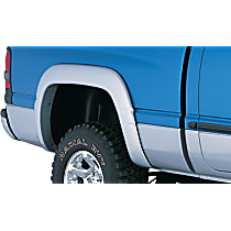 50012-02 Rear, Driver and Passenger Side OE Style Series Fender Flares, Black