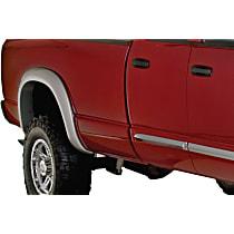Rear, Driver and Passenger Side Bushwacker Extend-A-Fender Fender Flares, Black