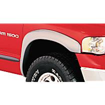 Rear, Driver and Passenger Side Bushwacker Pocket Style Fender Flares, Black