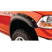 50037-02 Front, Driver and Passenger Side Pocket Style Series Fender Flares, Black