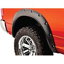 50038-02 Rear, Driver and Passenger Side Pocket Style Series Fender Flares, Black