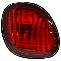 Driver Side, Inner Tail Light, With bulb(s) - Red Lens