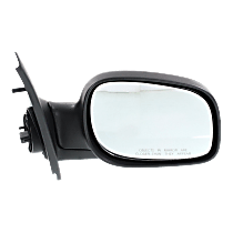 Mirror Manual Folding - Passenger Side, Paintable