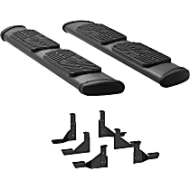 277078-401743 Luverne Regal 7 in. Running Boards - Powdercoated Textured Black, Set of 2