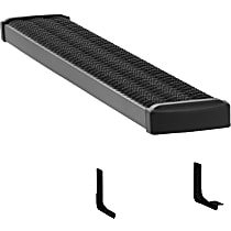 Luverne 415254-570748 Hitch Step - Powdercoated Textured Black, Aluminum, Set of 2