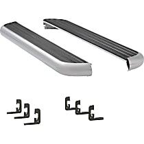 575088-570713 6 1/2 in. MegaStep Series Running Boards - Polished, Set of 2
