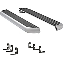 Luverne 6 1/2 in. MegaStep Running Boards - Polished, Set of 2