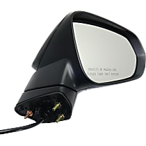 Mirror Manual Folding Heated - Passenger Side, Power Glass, In-housing Signal Light, Paintable