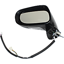 Mirror - Driver Side, Power, Heated, Paintable, With Turn Signal, Memory and Puddle Lamp, For Models With Luxury/Sport Package