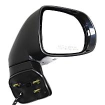 Mirror Power Folding - Passenger Side, In-housing Signal Light, Paintable