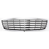Grille Assembly - Chrome Shell with Painted Black Insert, Sedan (with Avantgarde Package)/Wagon