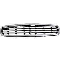 Grille Assembly - Chrome Shell with Silver Insert, with Elegance Package, without Proximity Cruise Control