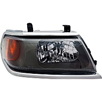 Passenger Side Headlight, With bulb(s) - From 3-00