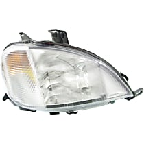 Passenger Side Headlight, With bulb(s) - Models With (163) Chassis and Without Sport Package