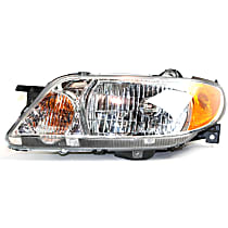 Driver Side Headlight, With bulb(s) - Sedan