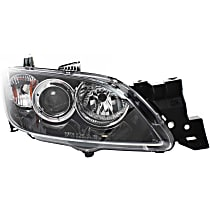 Sedan, Passenger Side Halogen Headlight, Without bulb(s)