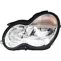 Driver Side Halogen Headlight, With bulb(s) - Sedan/Wagon